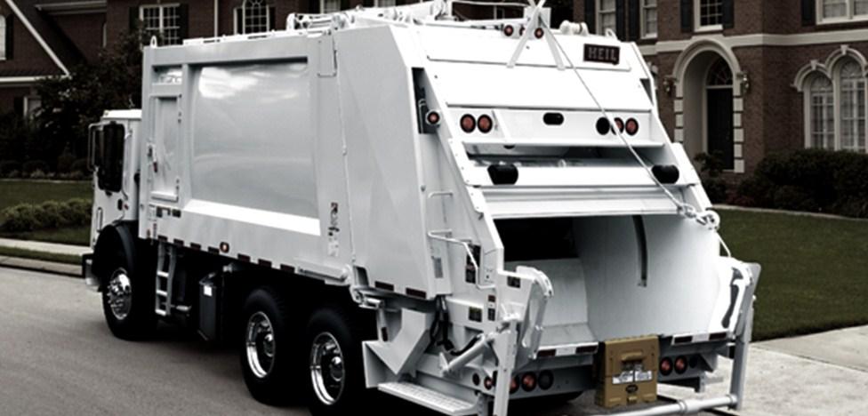 Long-Term Garbage Truck Rental Rear Loader