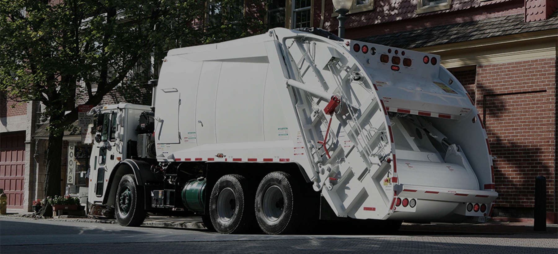 Rear Loader Municipal Garbage Truck Rental
